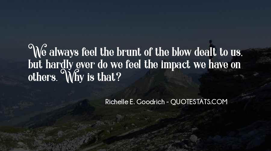 Quotes About Impact Of Others #671018