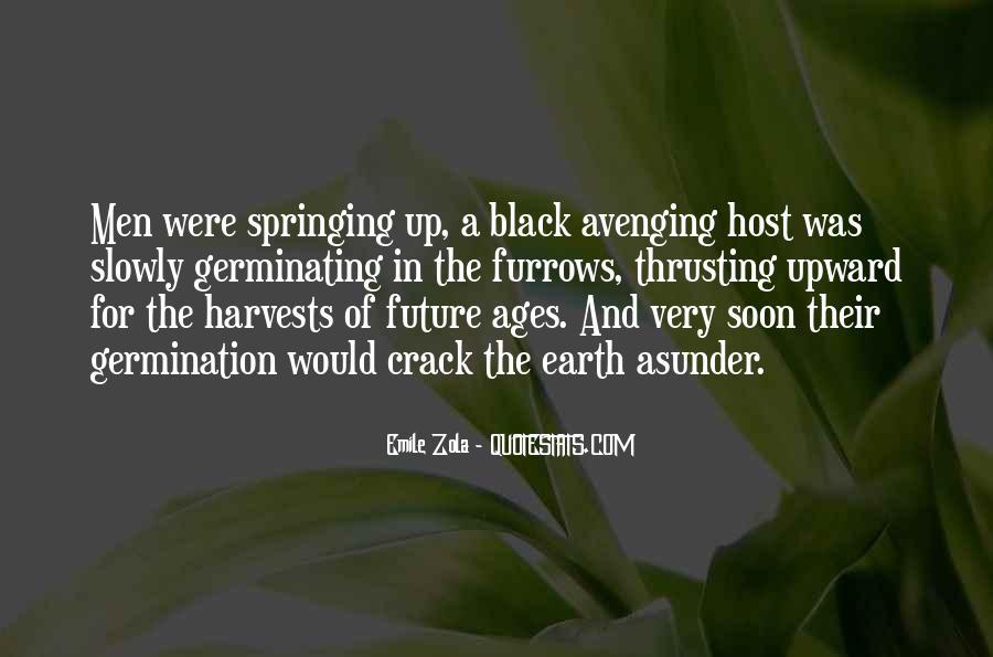 Emile Zola Germinal Quotes #600809