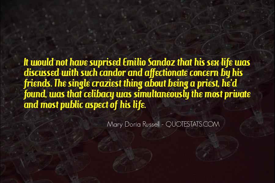 Emilio Sandoz Quotes #294191