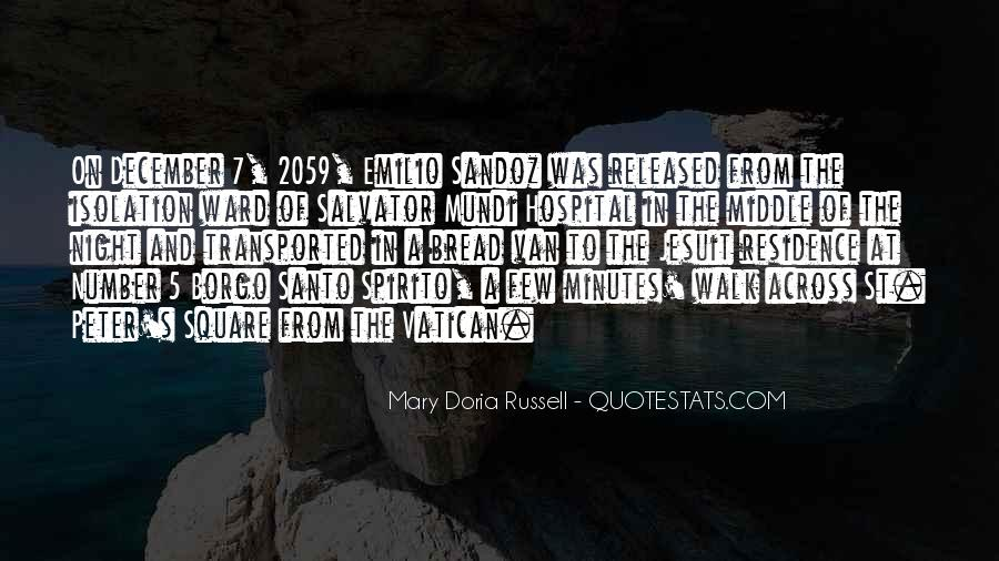 Emilio Sandoz Quotes #483530