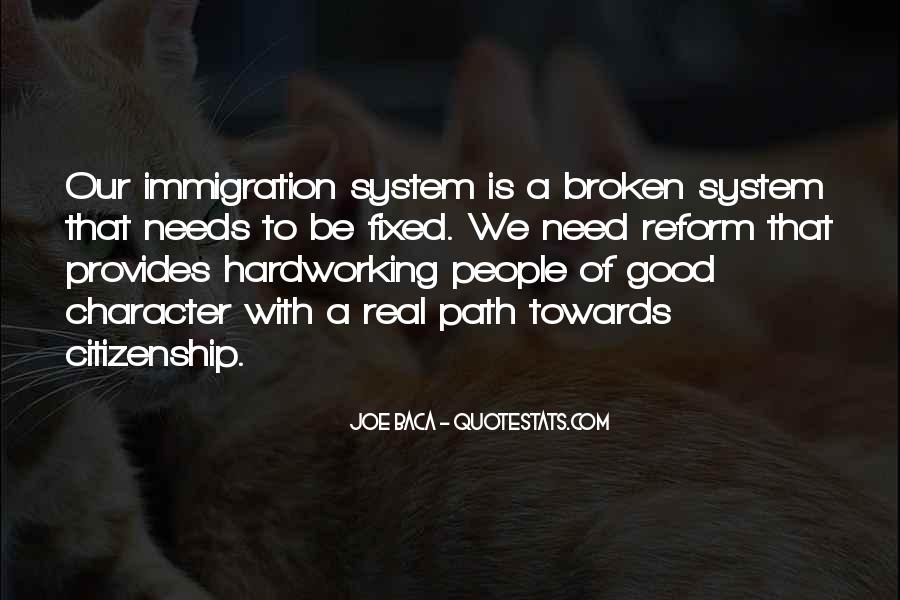 Quotes About Immigration And Citizenship #1100993