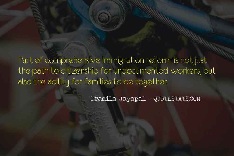 Quotes About Immigration And Citizenship #1633450