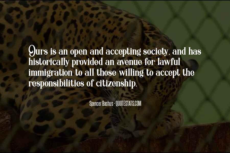 Quotes About Immigration And Citizenship #1704861