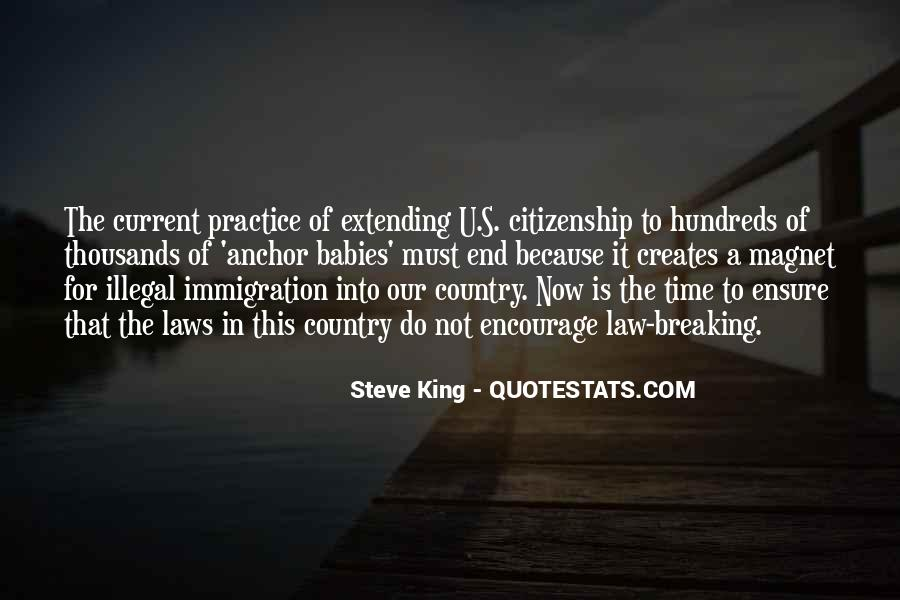 Quotes About Immigration And Citizenship #26355