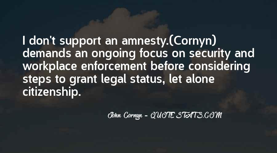 Quotes About Immigration And Citizenship #282275