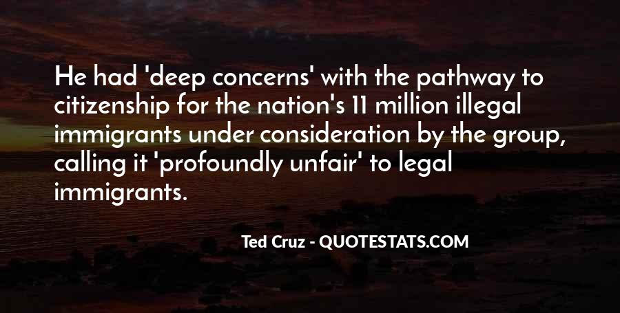 Quotes About Immigration And Citizenship #443347