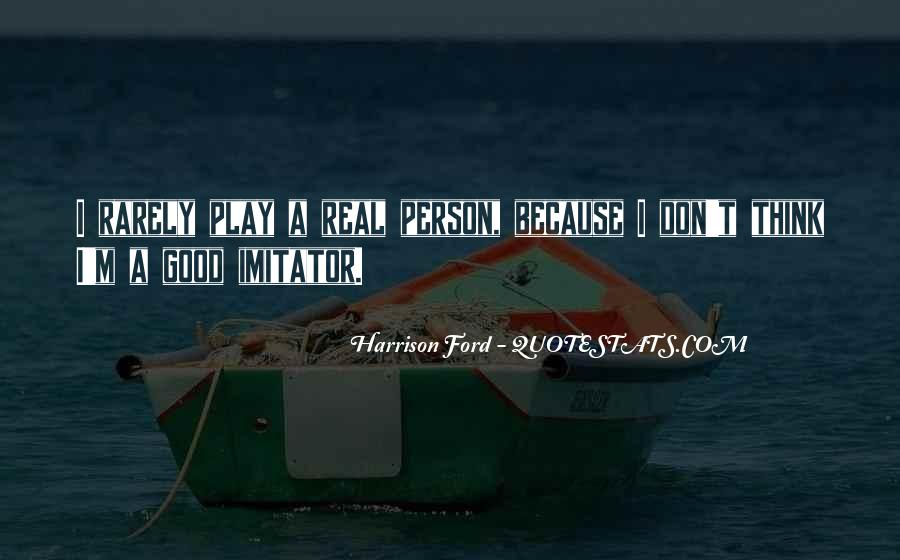 Quotes About Imitator #1056697