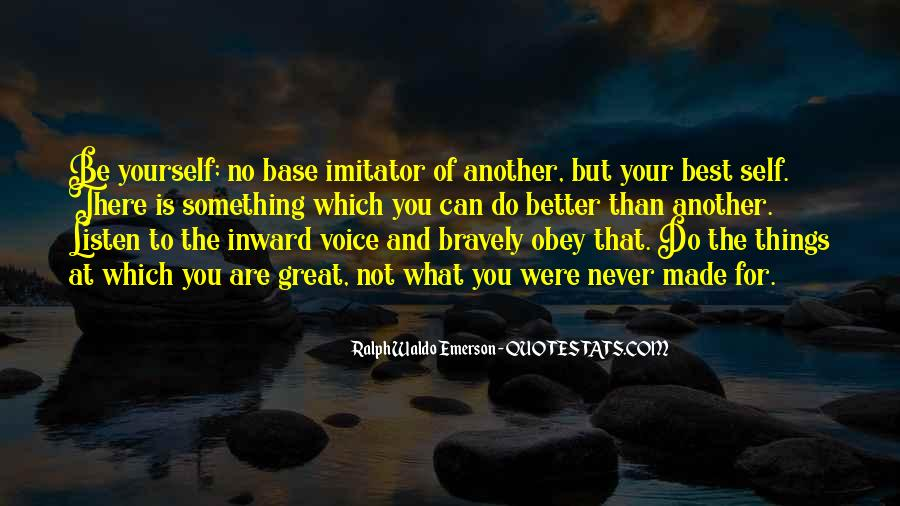 Quotes About Imitator #1775834
