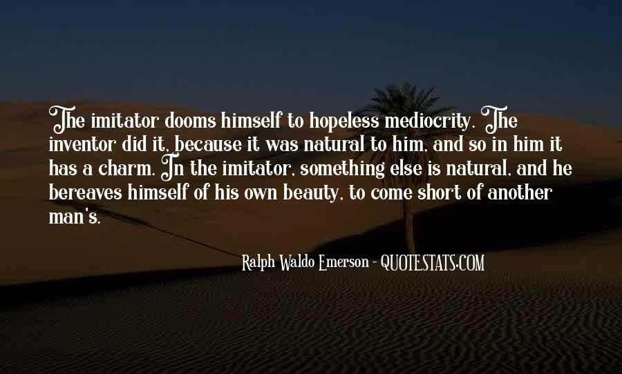 Quotes About Imitator #439377