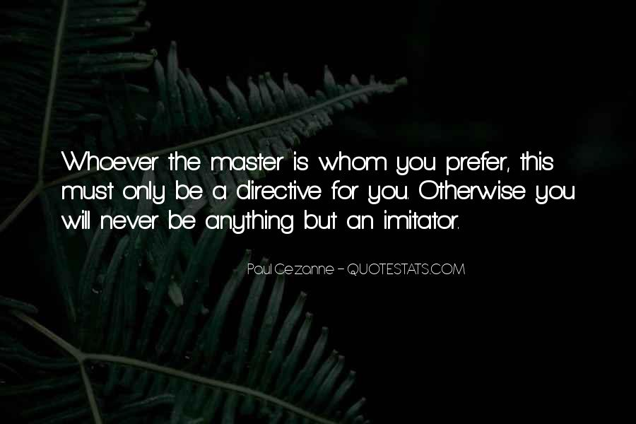 Quotes About Imitator #739419
