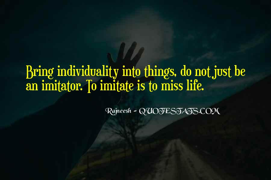 Quotes About Imitator #802746
