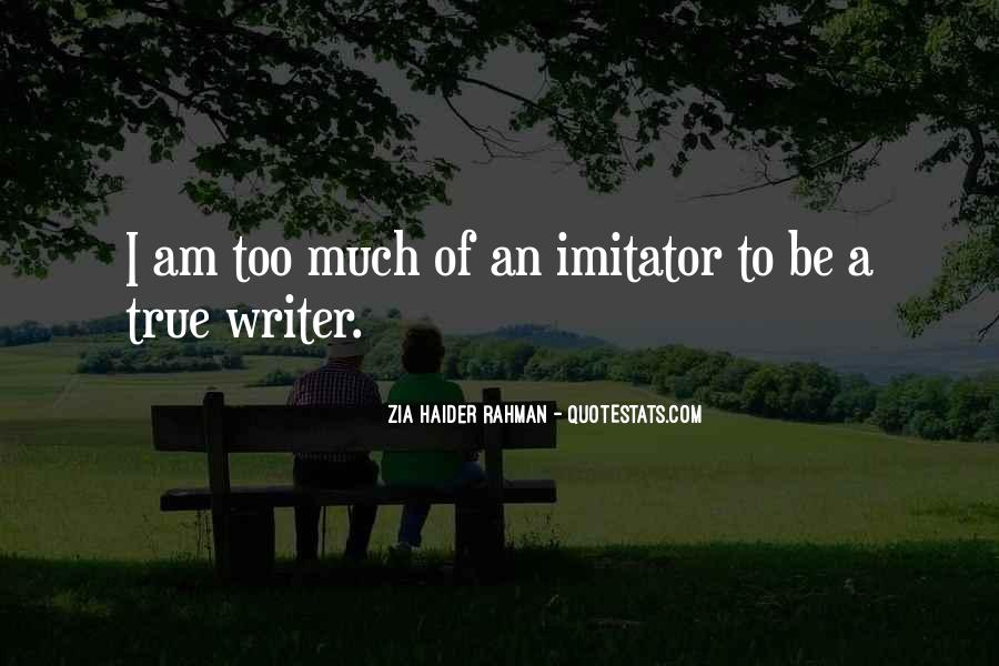Quotes About Imitator #817061