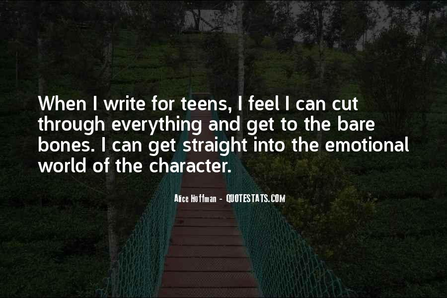 Emotional Cutting Quotes #719370