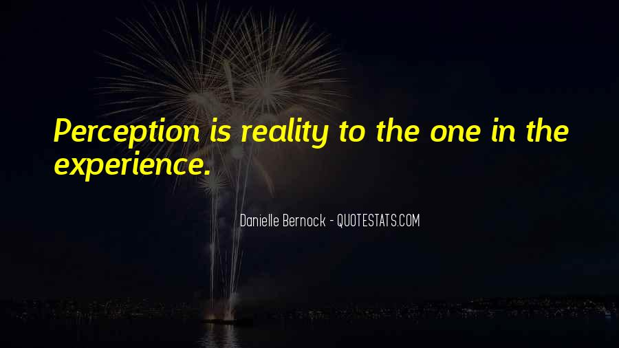 Emotions And Reality Quotes #1126141