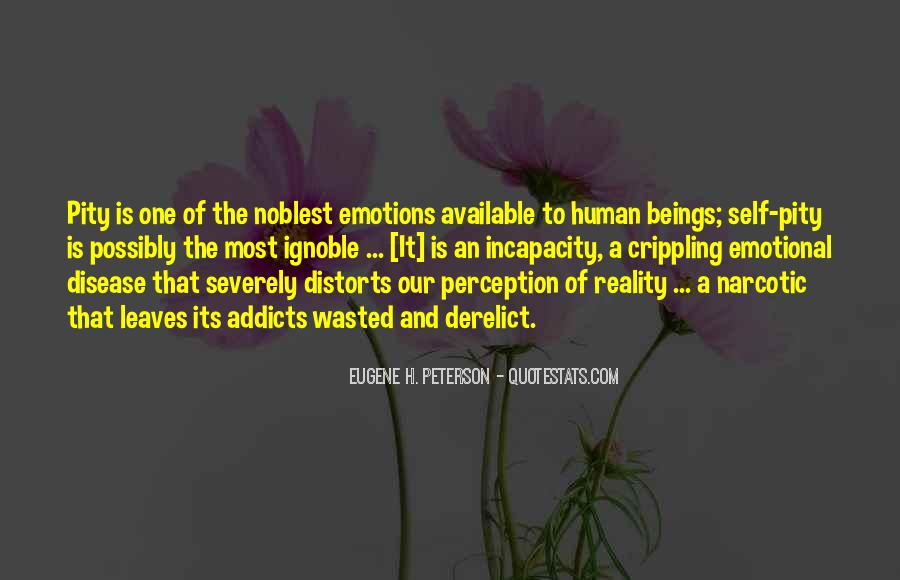Emotions And Reality Quotes #1336511