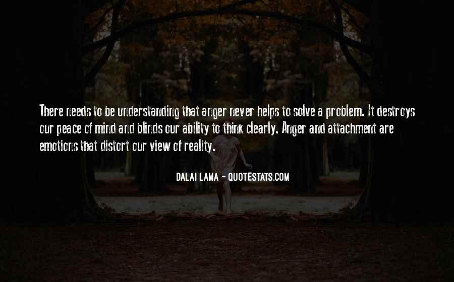 Emotions And Reality Quotes #142818