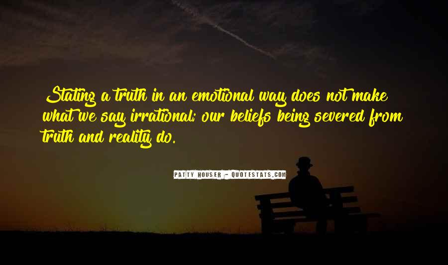 Emotions And Reality Quotes #376253