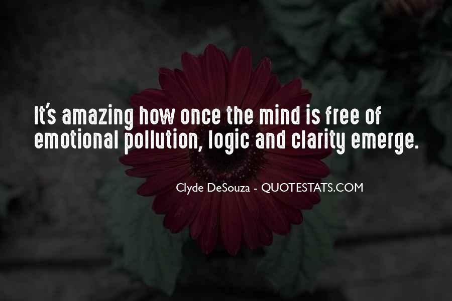 Emotions Versus Logic Quotes #467361