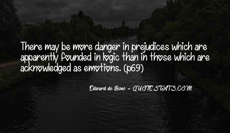Emotions Versus Logic Quotes #519981