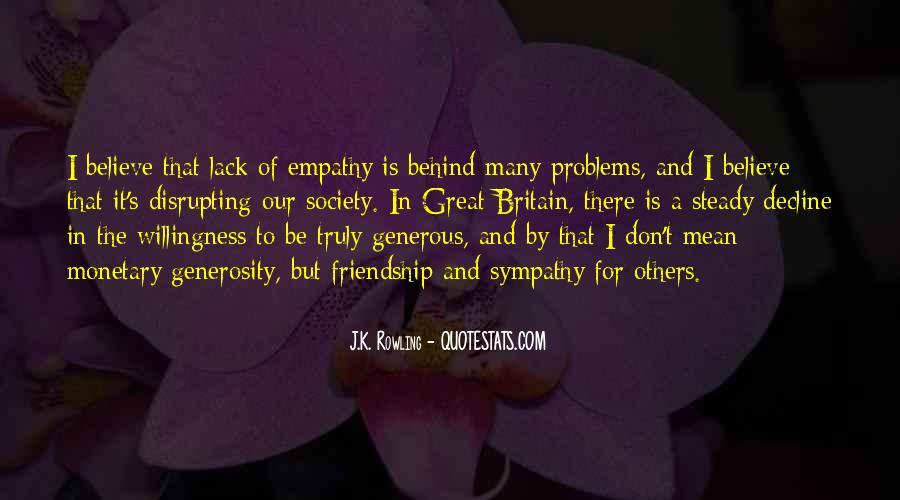 Empathy Friendship Quotes #690419