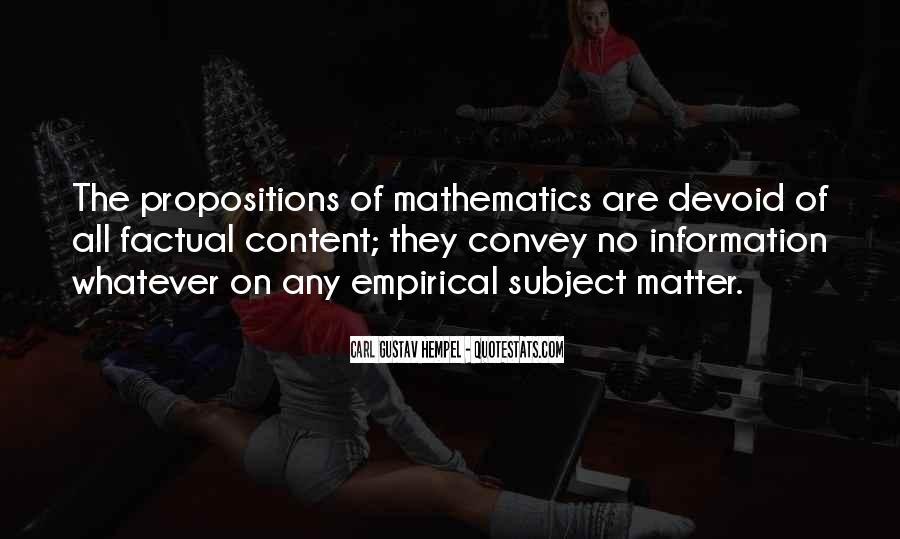 Empirical Quotes #448873