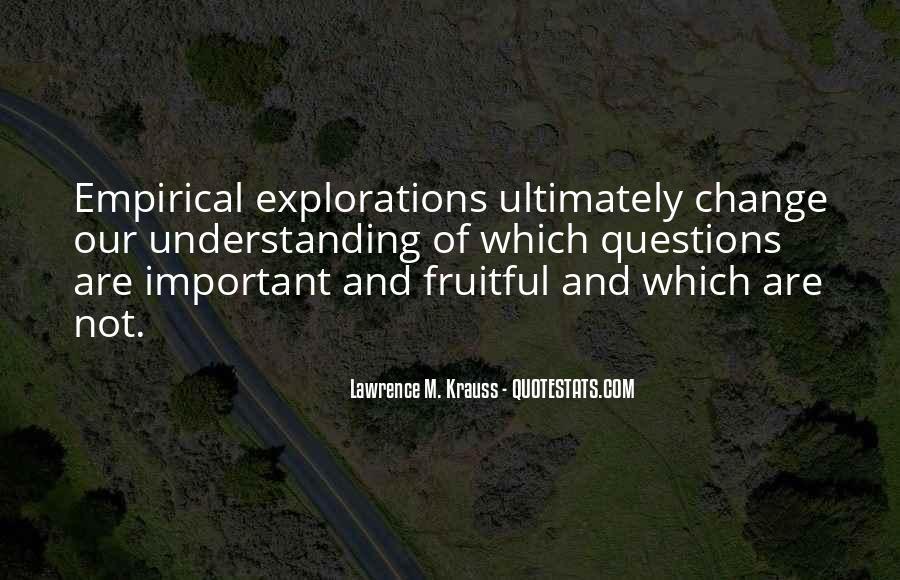 Empirical Quotes #521649