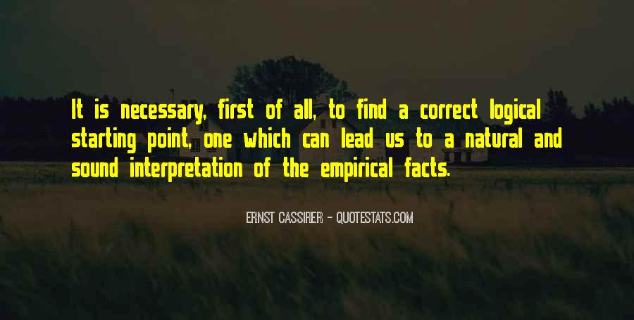 Empirical Quotes #529020