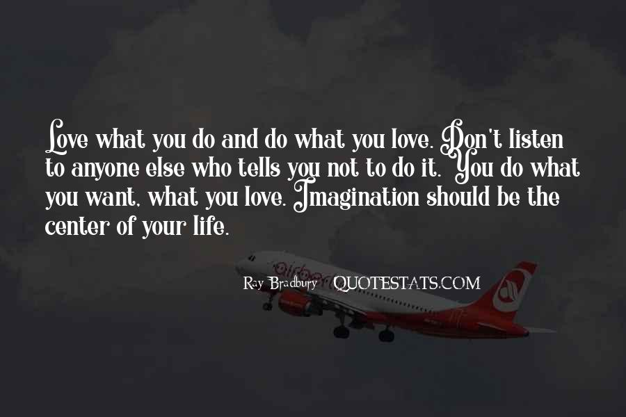 Quotes About Imagination Love #292702