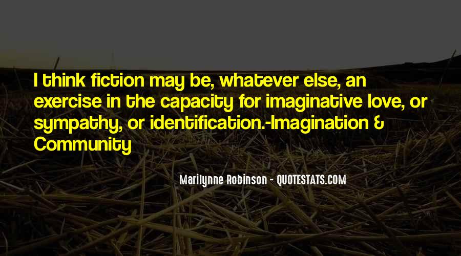 Quotes About Imagination Love #475781
