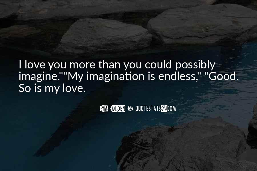 Quotes About Imagination Love #56510