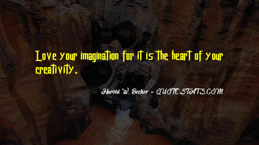 Quotes About Imagination Love #96257