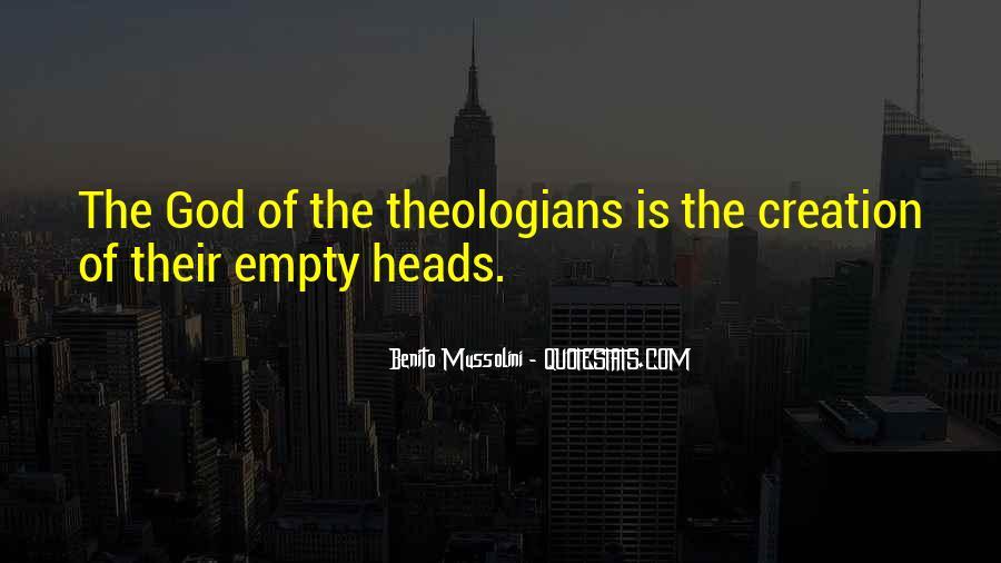 Empty Heads Quotes #1183449