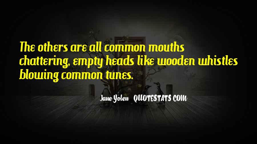 Empty Heads Quotes #147599