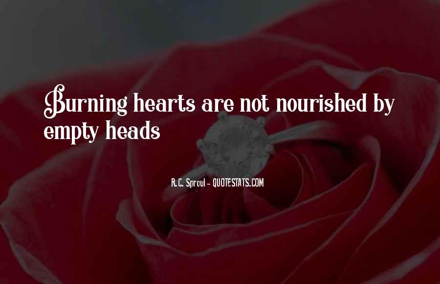 Empty Heads Quotes #1512820