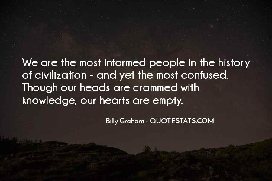 Empty Heads Quotes #233218