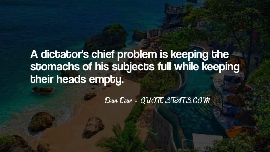 Empty Heads Quotes #366908