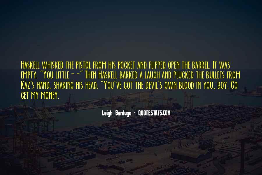 Empty Pocket Quotes #1012706
