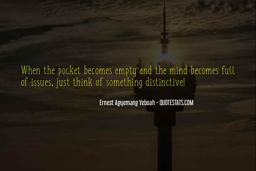 Empty Pocket Quotes #1098476