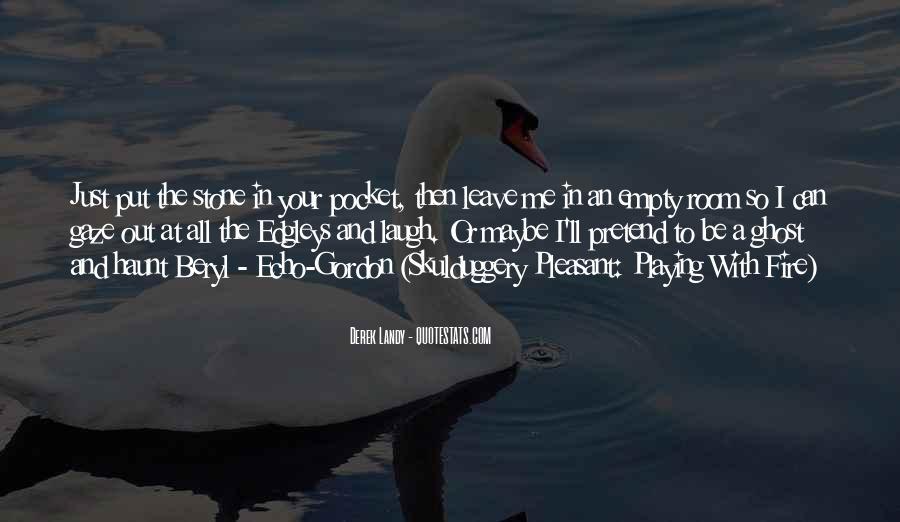 Empty Pocket Quotes #130243