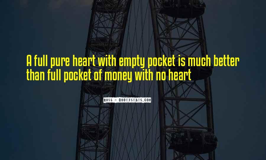Empty Pocket Quotes #1750200