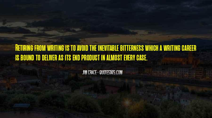 End Is Inevitable Quotes #1793359