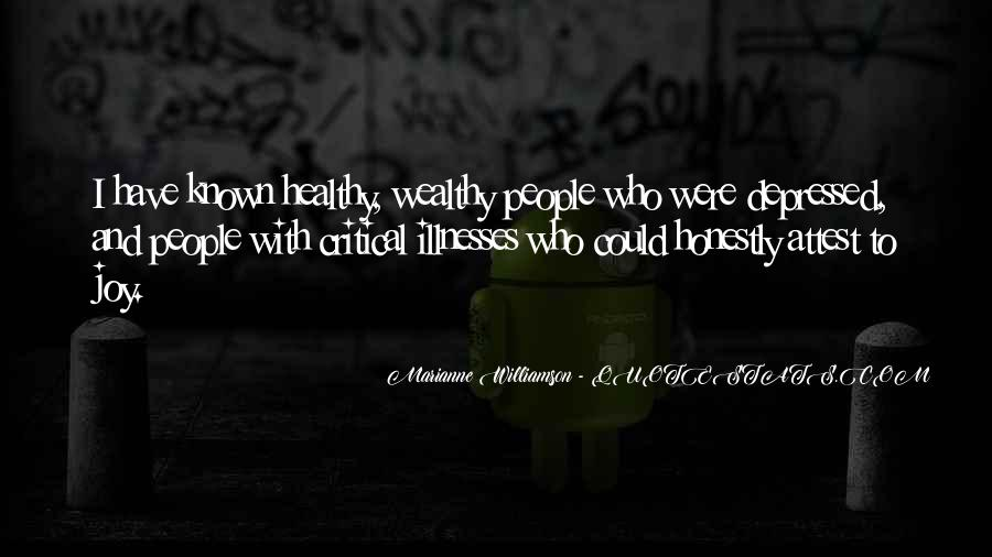 Quotes About Illnesses #279782