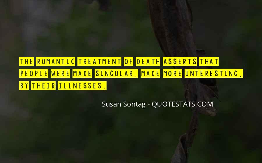 Quotes About Illnesses #344537