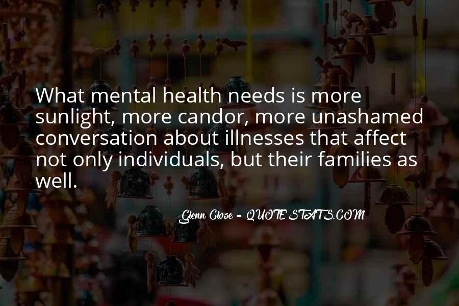 Quotes About Illnesses #362328