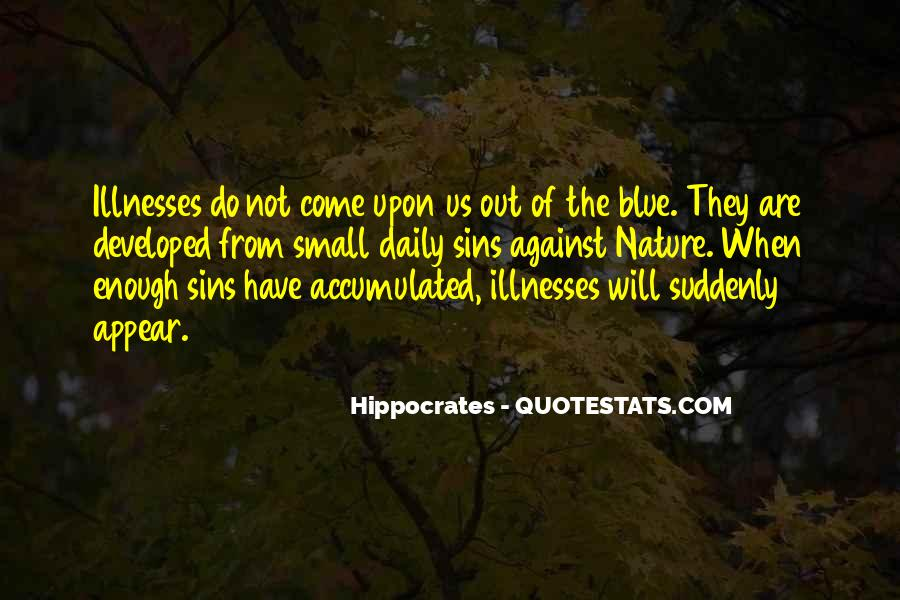 Quotes About Illnesses #568993