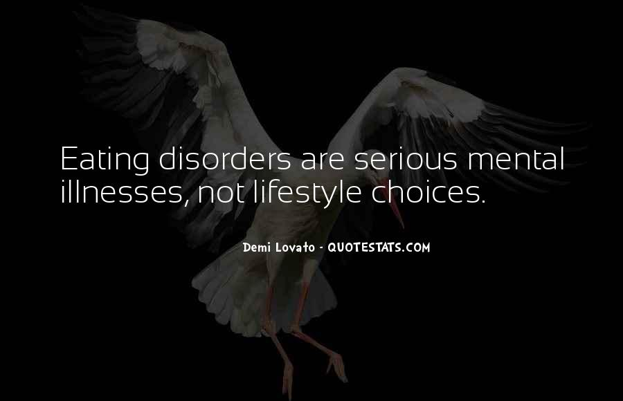 Quotes About Illnesses #68310