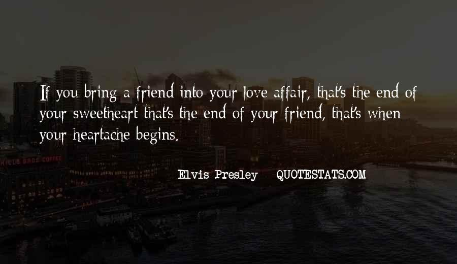 End Of Love Quotes #129164