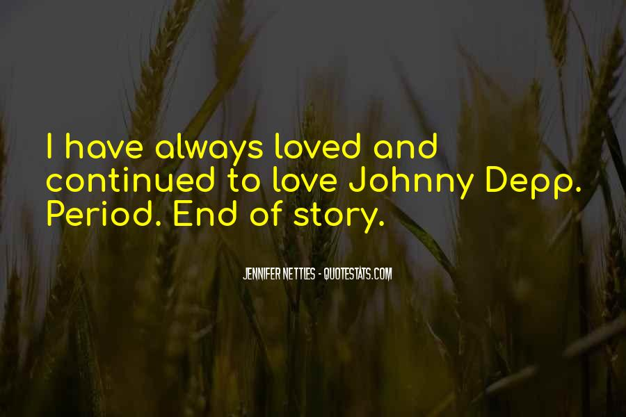 End Of Love Quotes #138887