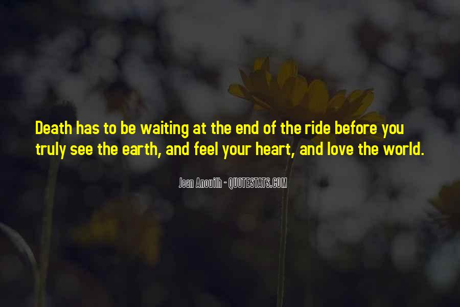 End Of Love Quotes #149343