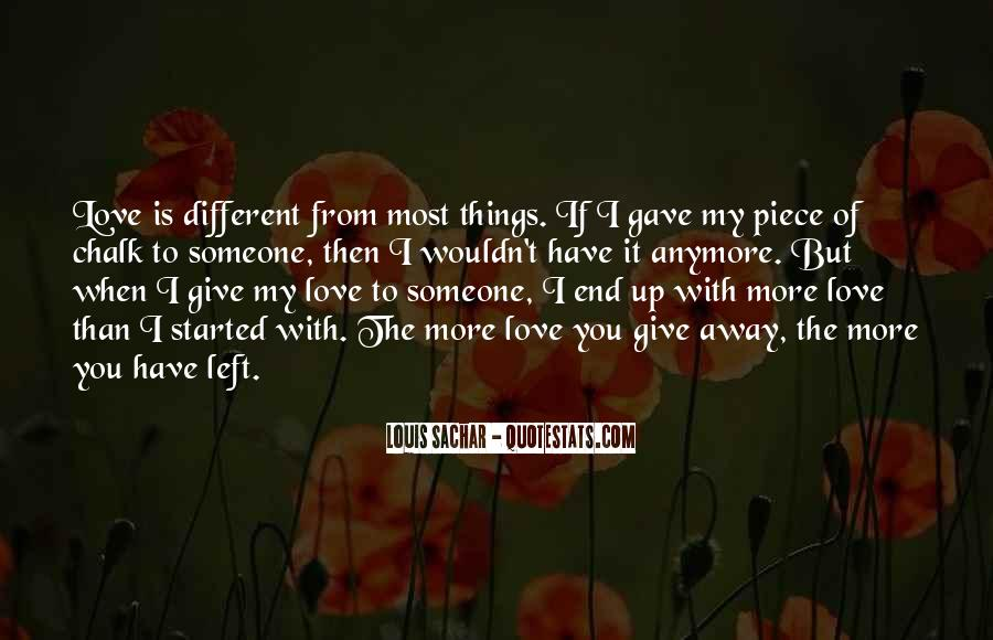 End Of Love Quotes #190966